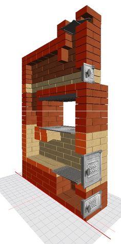бесплатный проект отопительно-врочной печи с порядовкой. Build Outdoor Kitchen, Stove Oven, Geometry Art, Rocket Stoves, Architecture, Building, House, Ovens, Houses