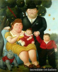 Una Familia, by Fernando Botero. http://www.incredibleart.org/gallery/A/A-Family-Una-Familia-by-Fernando-Botero.html
