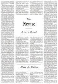 the news a users manual - Google Search