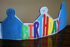 Craft Me This: Birthday Crown