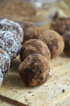 Chocolate Coconut Cream Bites via @runonrealfood