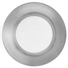 "Dinner plate, Shape ""MEISSEN® COSMOPOLITAN"", Platinum, Ø 30 cm"