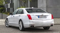 2017 Cadillac CT6 (Euro-Spec) - Rear - Picture # 6