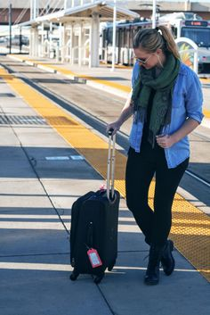 Suitcase Style: Airport Wear - The Suitcase Blonde - Denver Style Magazine