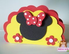 porta guardanapo minnie                                                                                                                                                     Mais