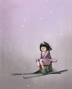 Lisa Aisato Lisa, Girl Crushes, Illustrators, Barn, Children, Drawings, Anime, Inspiration, Image