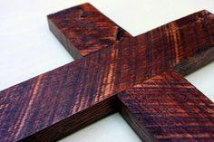 handmade wooden cross. etsy.