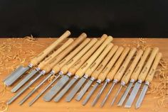 Guide for woodturning tools for beginners! #woodturning #tools…