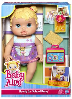 Baby Alive Ready for School Baby