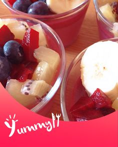 beats pudding with banana