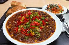 Recept na pravé chilli con carne | Jalapeno, Chilli, Habanero pálivé papričky a…