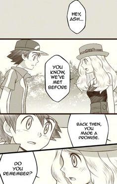 Ash and Serena comics pt.1