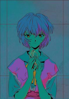 Neon Genesis Evangelion | Rei Ayanami