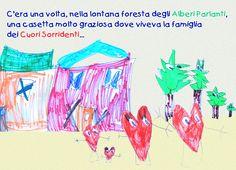 """Così inizia """"alla ricerca del tesoro con l'antica Mappa Canterina"""", l'ebook per bambini firmato BolognArt."""