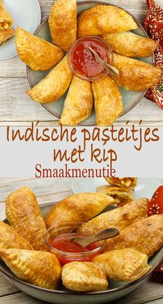 Indische pasteitjes met kipYou can find indische hapjes and more on our website. Indian Food Recipes, Asian Recipes, Gourmet Recipes, Cooking Recipes, Healthy Recipes, Orange Recipes, Cooking Tips, Tapas, Lunch Snacks