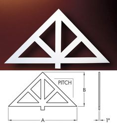 gable decorations | Fypon Gable Pediments, Gable Decorations, Victorian Gable Pediments ...