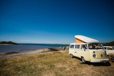 VW Campervan hire from Kippford Classic Car Hire. Contact us to hire your VW Camper today Vw Campervan Hire, Scotland Tours, Van Living, Self Driving, Built In Storage, Car Detailing, Classic Cars, Adventure, Camping