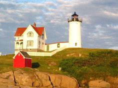 Nubble Light House in Maine