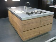 Keuken on pinterest cleanses contemporary kitchens and minimalist kitchen - Kookeiland tafel ...