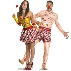 Operation & Operation Sexy (Game) Couples Costume
