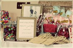 Bridal Shower Candy Bar- Created by Nicole Montoya