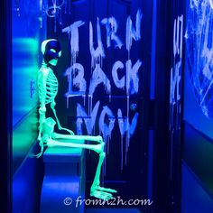 Looking for ways to use black light at your Halloween party? Find out how with our list of 9 ways to create glow-in-the-dark Halloween Decorations.
