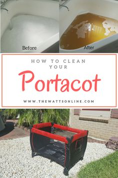 How To Clean Your PortaCot | The Watts | The Watts