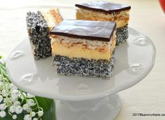 Prajitura Tosca reteta populara Romanian Food, Tiramisu, Food To Make, Caramel, Cheesecake, Food And Drink, Sweets, Baking, Eat