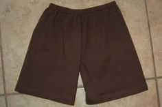 Comfy pajama shorts for kids, made from Daddy's old t-shirt. Genius! BrownThumbMama.com