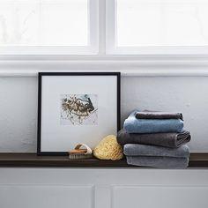 Håndklæder, hørgrå
