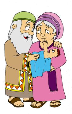 Resultado de imagen para manualidadaes dios da un hijo a Abraham