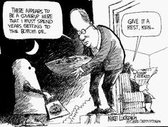 Mike Luckovich cartoons: Trick or treat