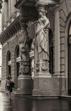 Andrássy út  Budapest, Hungary