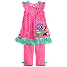 Disney Minnie Mouse Knit Dress for Girls! So Spring! I love the Disney Store!