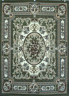 Discount Persian Rugs 8011green