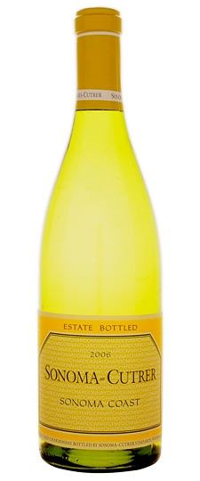 Sonoma Cutrer Chardonnay - one of my favorite Chardonnays. Buttery, dry, clean.