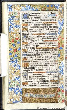 Book of Hours, MS M.7 fol. 49v - Images from Medieval and Renaissance Manuscripts - The Morgan Library & Museum