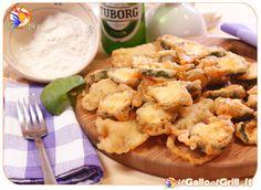 Rondelle di Zucchine con pastella alla Birra