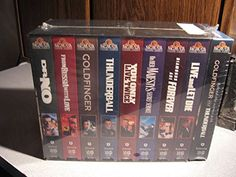 James Bond 007 Giftset [VHS] @ niftywarehouse.com #NiftyWarehouse #Bond #JamesBond #Movies #Books #Spy #SecretAgent #007