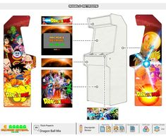 Diseños – Arcades RetroAl Arcade Machine, Mystery Books, Used Books, Poppies, Novels, Day, Dragon Ball, Videogames, Vinyls