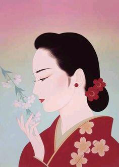 "FB. Japanese art, culture, peace and the world.  ""Full Flower"" of ""Ichiro Tsuruta"""