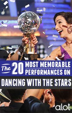 In honor of Dancing With the Star's 10th anniversary special tonight, we're counting down the 20 most memorable DWTS performances!