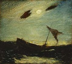 Albert Pinkham Ryder, Moonlight, 1887, Smithsonian Museum of American Art.