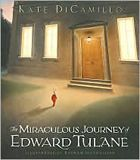The Miraculous Journey of Edward Tulane by Kate DiCamillo. Prairie Pasque Winner 2008-2009. (Book cover used with permission from bn.com.)