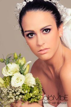 #Maquillaje del bloque #novias-Curso de Maquillaje Profesional. #BridalMakeup