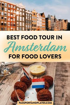 If you're planning a trip to Amsterdam, click to read why you should book an Amsterdam food tour with Eating Europe PLUS all the great eats you can enjoy! | Best Amsterdam Food Tour | Amsterdam Food Tour Review | Eating Europe Food Tour Review | Eating Amsterdam Food Tour | What to Eat in Amsterdam | Best Things to Eat in Amsterdam | Best Foods in Amsterdam