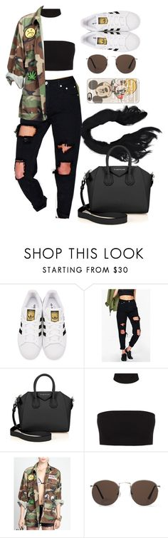 """19 June, 2016"" by jamilah-rochon ❤ liked on Polyvore featuring adidas Originals, Boohoo, Givenchy, MANGO and Casetify"