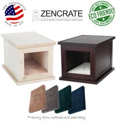 The ZenCrate is the first smart dog crate that reduces anxiety caused by storm phobia, separation, fireworks, and many other causes. Anxiety Causes, Anxiety Relief, Food Dog, Airline Pet Carrier, Dog Separation Anxiety, Puppies Tips, Overcoming Anxiety, Puppy Care