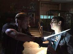Jace and Simon... #Shadowhunters