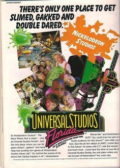 Nickelodeon Studios at Universal Orlando: A cherished history & our hopes of a comeback Universal Studios Parking, Universal Studios Theme Park, Disney Universal Studios, Universal Orlando, Florida Theme Parks, Orlando Theme Parks, Destin Florida, Parque Universal, Disney Vacations